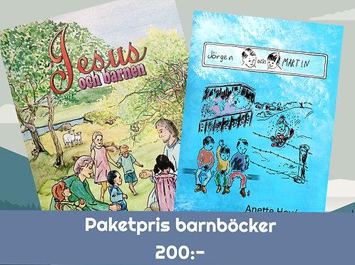 Paketpris barnböcker