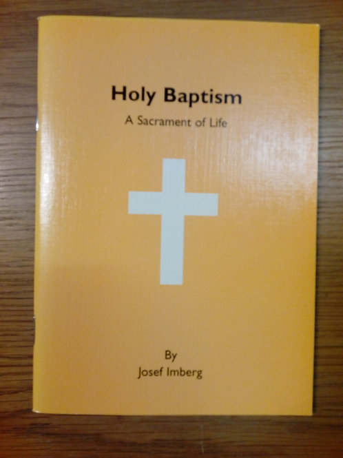 Holy Baptism - Josef Imberg