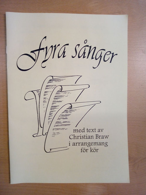 Fyra sånger med text av Christian Braw