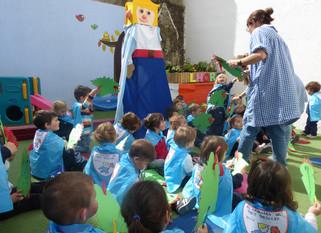 Els pares ens expliquen contes per Sant Jordi!