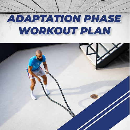 ADAPTATION PHASE WORKOUT ROUTINE
