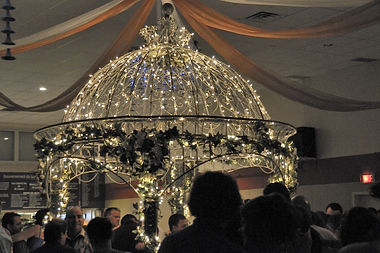 Décortion salle de réception Serres Li-Ma, Québec, mariages, fêtes, anniversaires