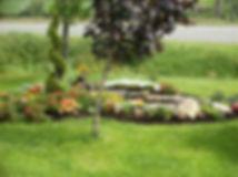 Service d'aménagement paysager Serres LIMA, jardins d'eau, plates-bandes