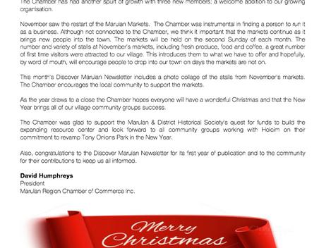 MRCC December News Bulletin