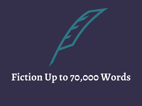 Fiction Book Any Genre W/ Editing (Up to 70K)