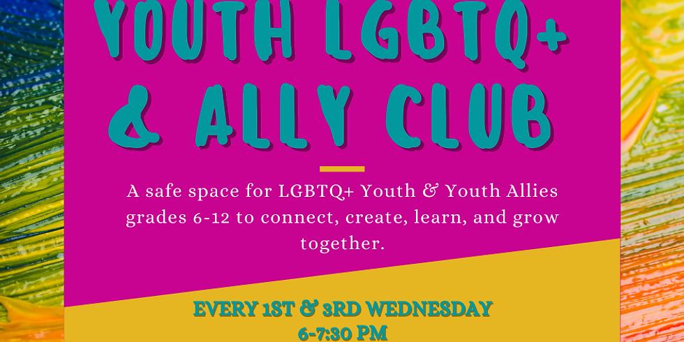 Youth LGBTQ+ & Ally Club