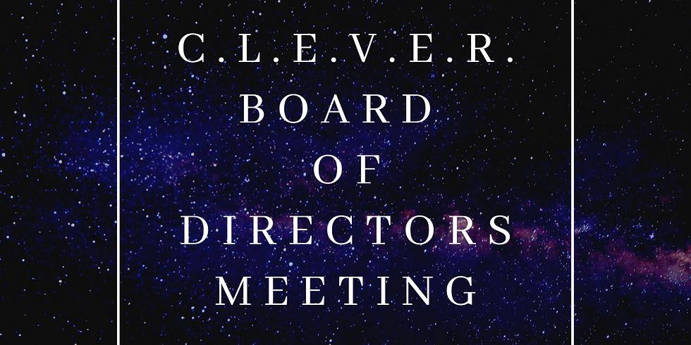 C.L.E.V.E.R. Board Meeting