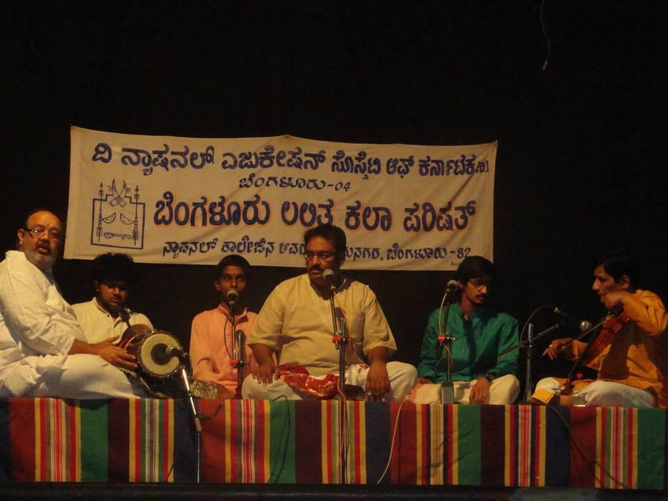 Dr. Nagendra Shastry at Bangalore Lalitha Kala Parishat