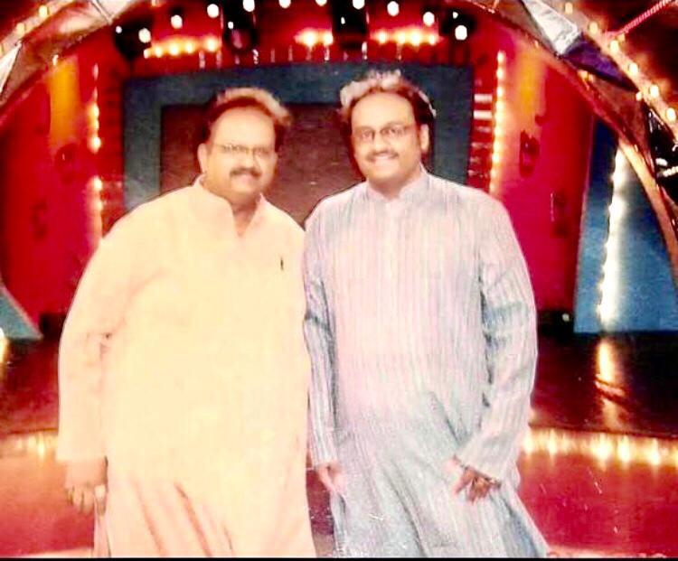Dr. Nagendra Shastry with Dr S.P Balasubrahmanyam
