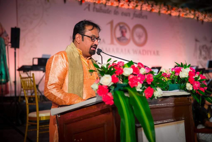 "Dr. Nagendra Shastry's speech during the release of his book, ""Vishesha Srividya"" on the occasion of Centenary celebrations of HH Jayachamarajendra Wodeyar"