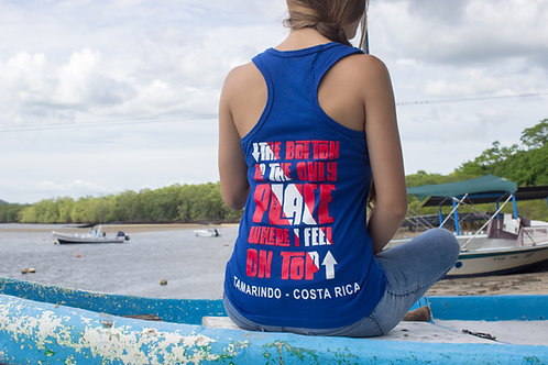 "Woman T-shirt Olympic  ""The Bottom..."" Blue"