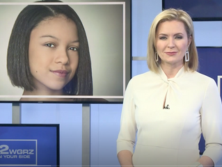 7th Grade actress, Mya Miller, on Channel 2 News in Buffalo!