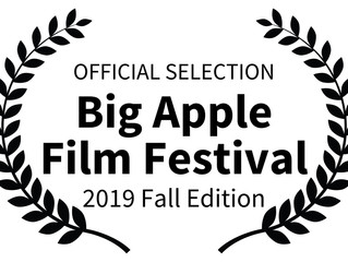 Official Selection of the Big Apple Film Festival!