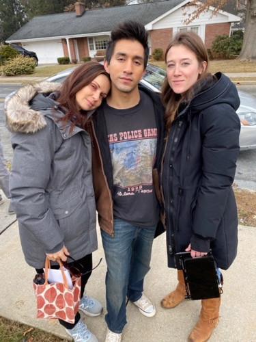 Florencia Lozano, Jake Lozano, Sarah Sch