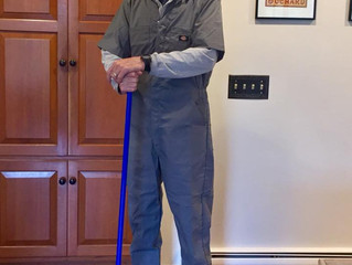 Janitor outfit complete