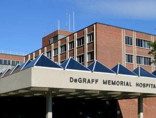 Shooting Location: DeGraff Memorial Hospital in North Tonawanda!
