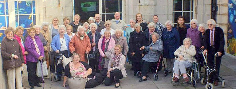 The Deans Senior Tea Club a social club for seniors in East Sussex