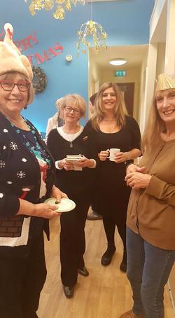 Tea Club Volunteers Dec 2016