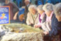 Seniors from the Deans Senior Tea Club in East Sussex