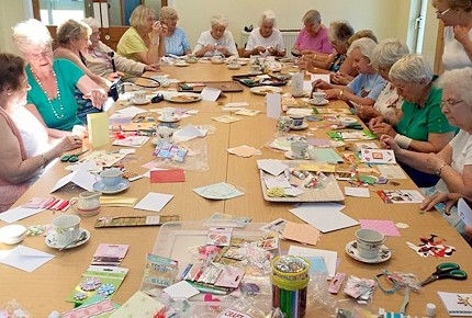 Craft activities for seniors