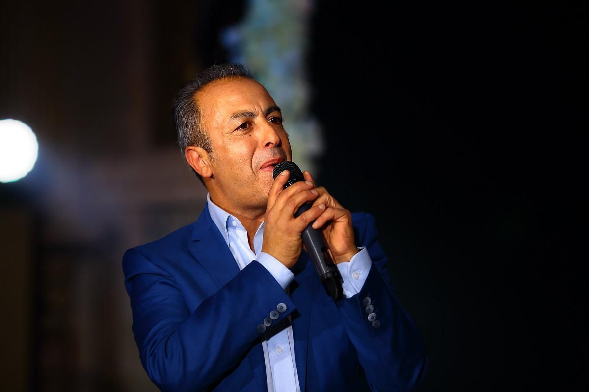 итальянский певец МАУРИЦИО ФИЛИСТАД