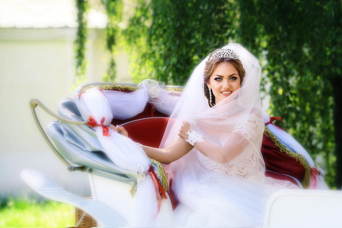 невеста в экипаже
