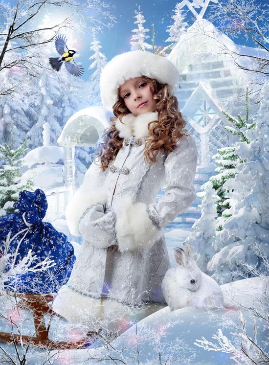 Снегурочка хрустальная