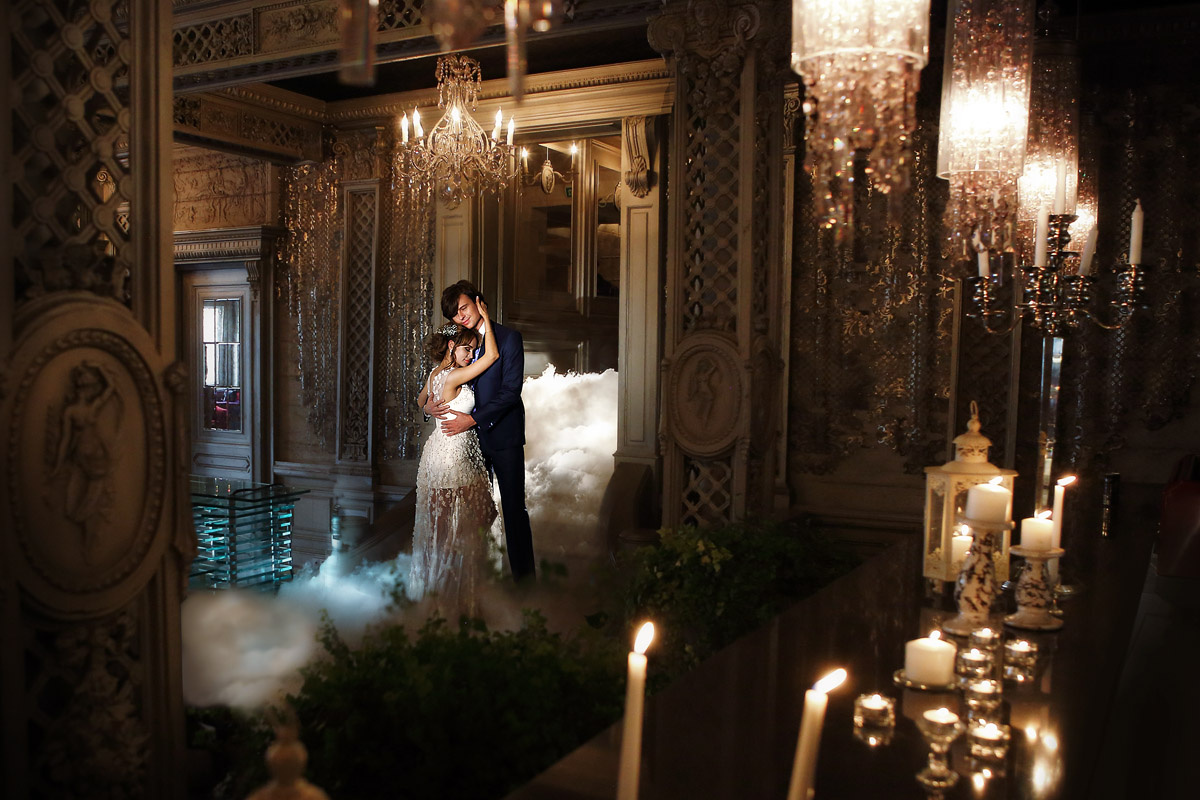 Анна и Прохор в Серебряном зале