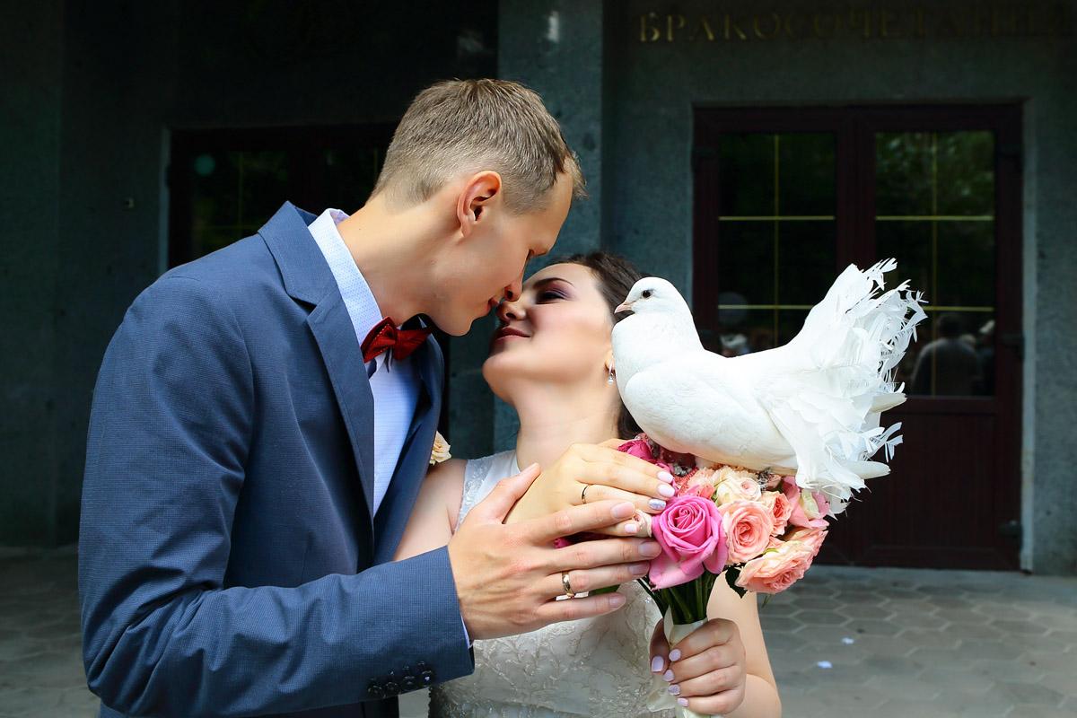 фотосессия у Дворца Бракосочетания