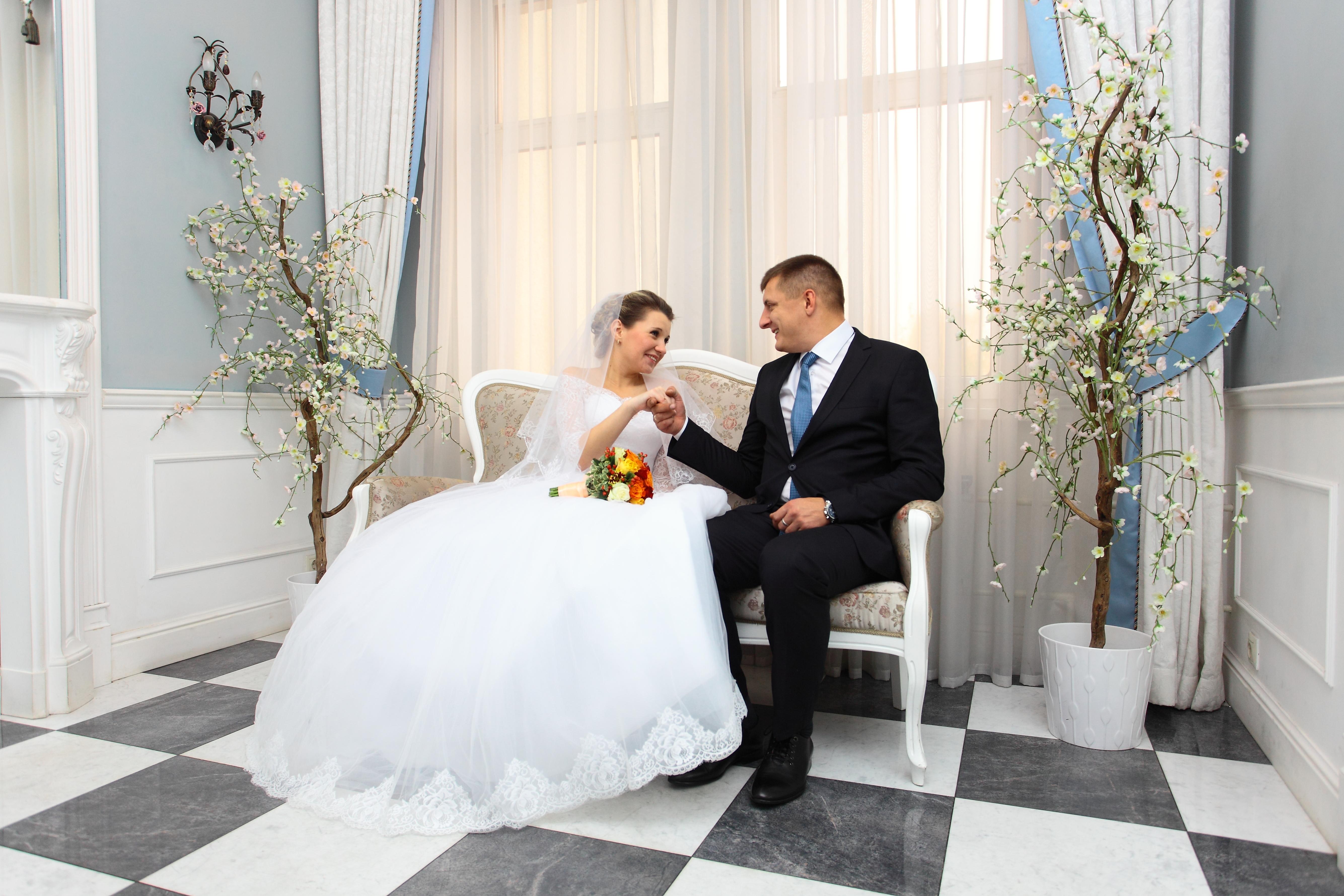 комната невесты в Загсе