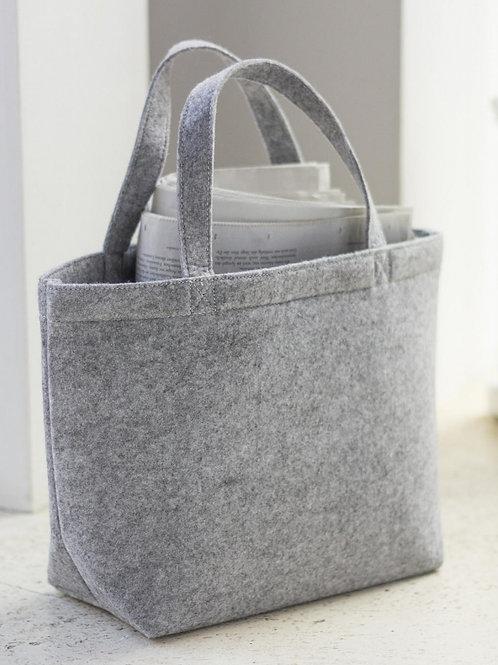 Mała zakupowa torebka z filcu