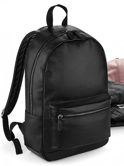 Modny plecak skóropodobny