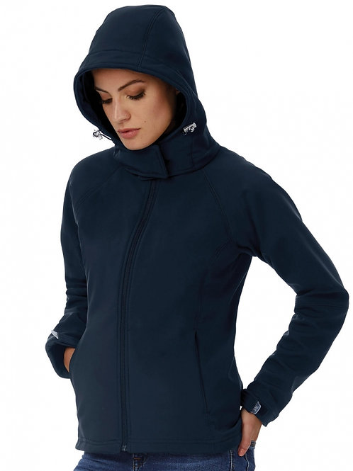 Damski Hooded Softshell/women