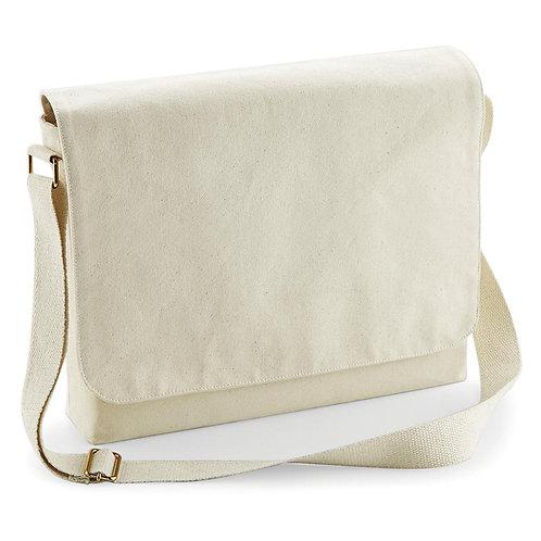 Bawełniana torba messenger FairTrade