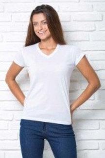 Koszulka Regular Lady Comfort V-neck