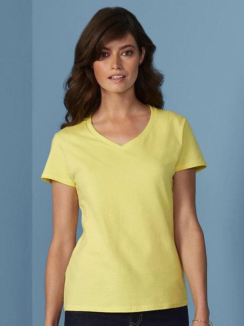 Damski t-shirt Premium Cotton V-Neck