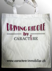 Przykładowe logo na torbie