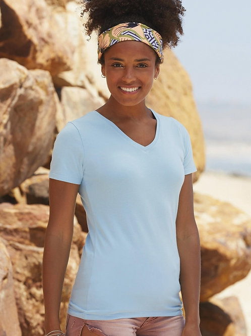 Podkoszulek Lady-Fit V-Neck