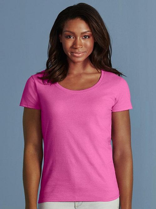 Damski t-shirt Softstyle® Deep Scoop