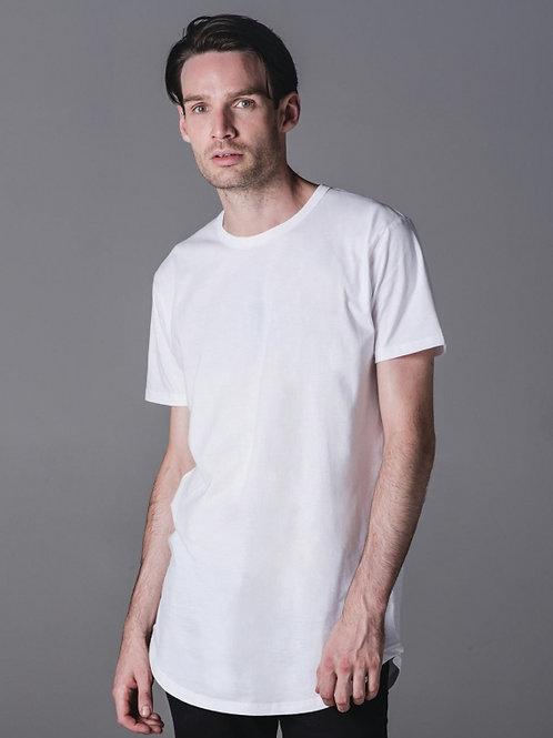 Dłuższy męski t-shirt Organic