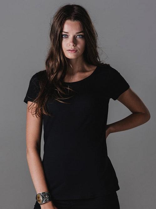 Damski t-shirt Organic U-Neck T