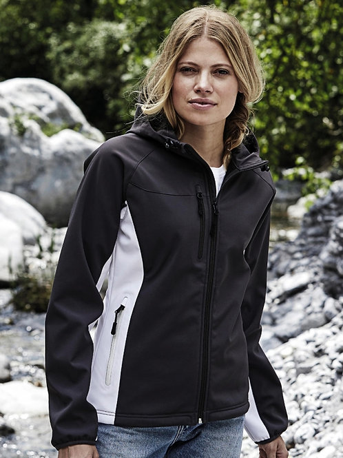 Damski Lightweight Softshell z kapturem