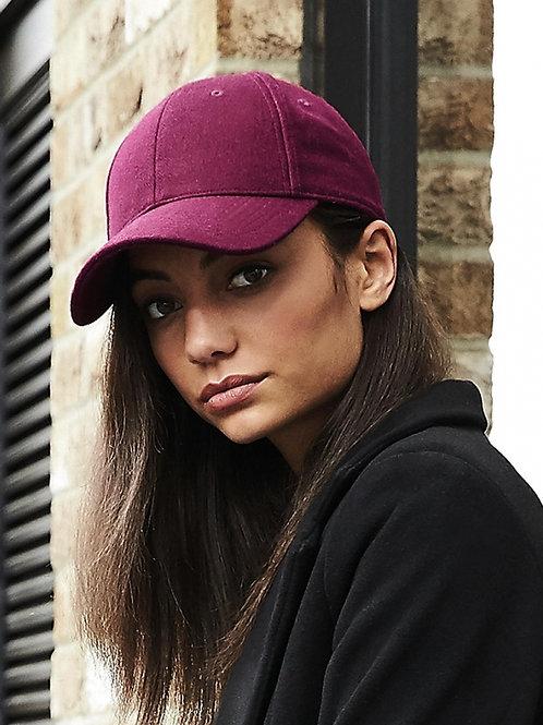 6 panelowa czapka Melton Wool