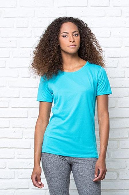 T-Shirt damski sportowy SPORT T-SHIRT LADY