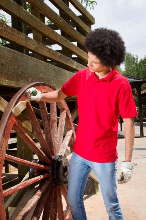 Polo męskie z krótkim rękawem Worker