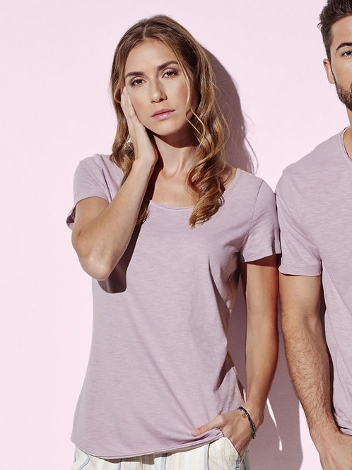 Damska koszulka oversized Crew Neck Sharon