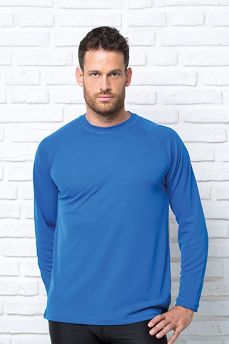 T-Shirt sportowy z długim rękawem SPORT T-SHIRT MAN LS