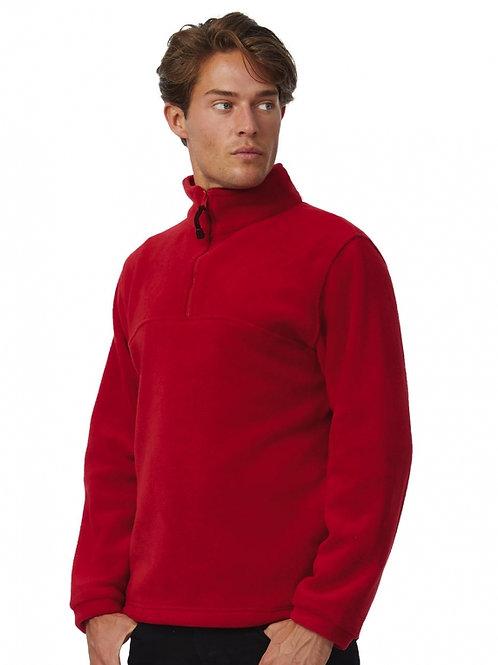 Bluza z polaru z krótkim zamkiem Highlander+