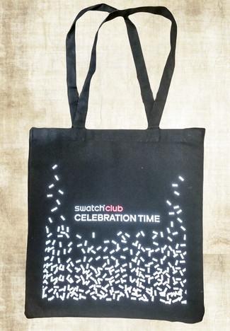 Przykładowy projekt graficzny na torbie