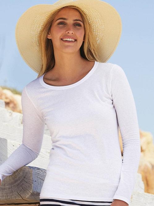 Koszulka z długim rękawem Lady-Fit Valueweight T